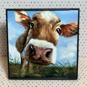 Hilarious Heifer Decor